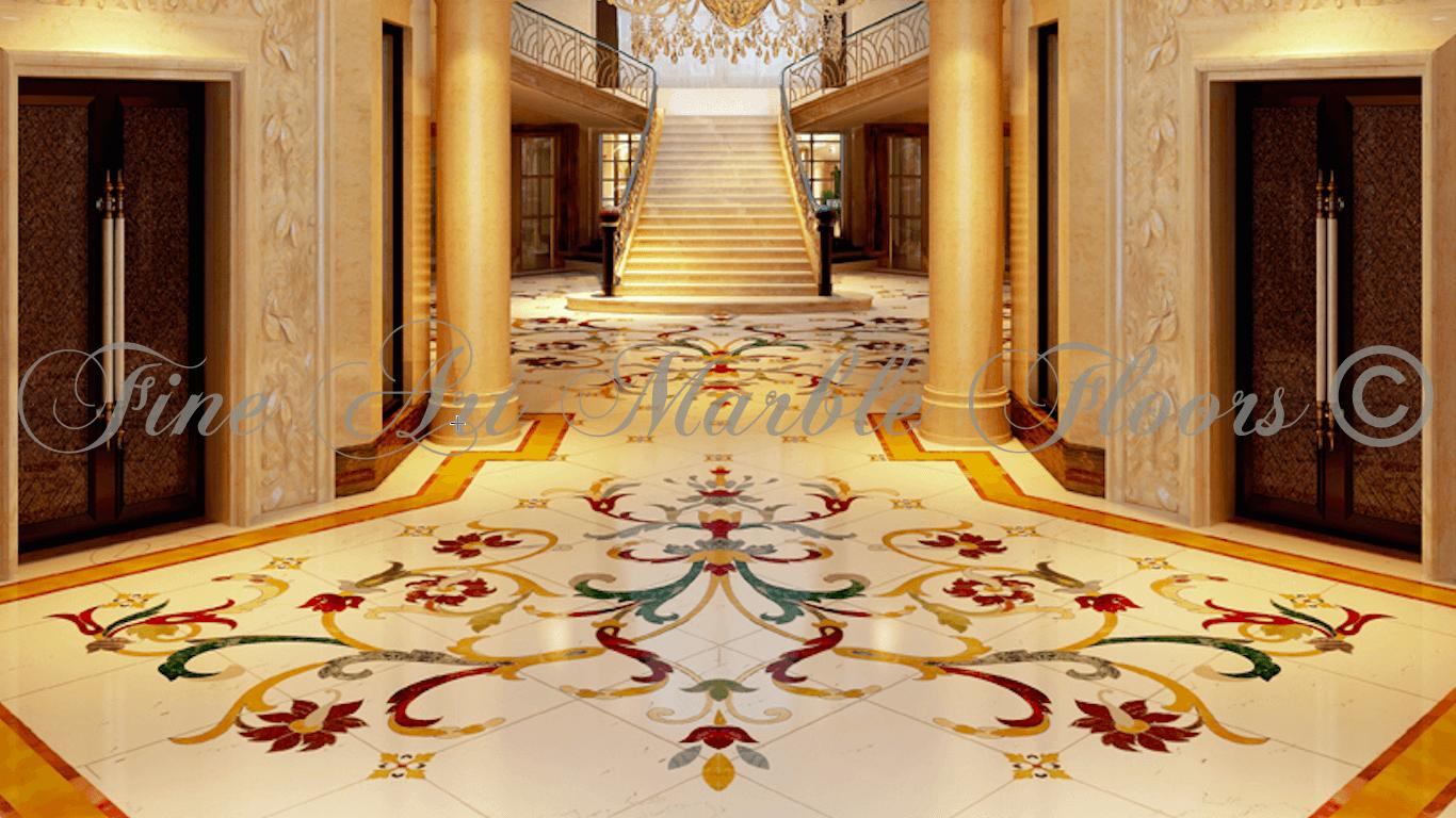 Palace & Villa Floors | Fine Art Marble